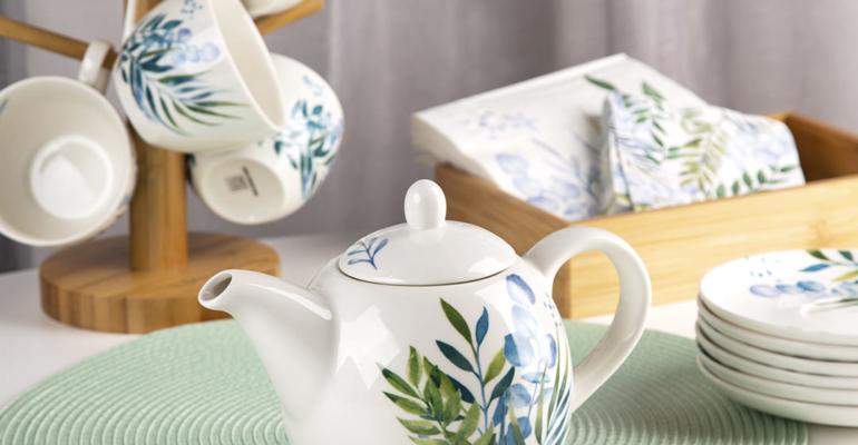 эвкалипт чайник с лого